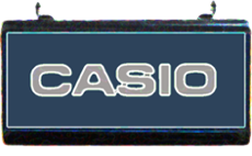 Casio sign