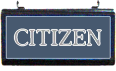 Citizen sign