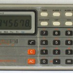 photo of casio-calculator-melody-80 front view