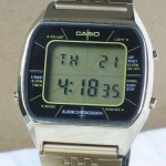 photo of casio-blue-thunder-gold-a201g front view 1