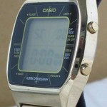photo of casio-blue-thunder-gold-a201g side view 1
