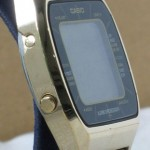 photo of casio-blue-thunder-gold-a201g side view 2