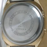 photo of casio-blue-thunder-gold-a201g back view