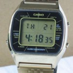 photo of casio-blue-thunder-gold-a201g front view sm