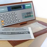 photo of casio-calculator-checkbook-cb-80 front view 3