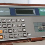 photo of casio-calculator-checkbook-cb-80 front view 4