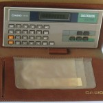 photo of casio-calculator-checkbook-cb-80 front view 5