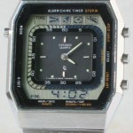 photo of vintage-citizen-timetracker-30-0055-digital-analog front view