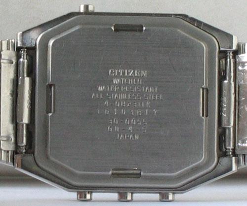 Vintage Citizen Timetracker Digital  Analog