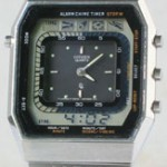 photo of vintage-citizen-timetracker-30-0055-digital-analog front view sm
