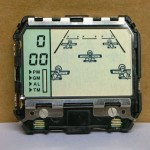 photo of nos-casio-ga-7-aerobatic-game-lcd-front view w/board