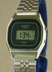 photo of nos-casio-lady-gold-lb611g front view