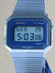photo of seiko new nos-seiko-f051-5000 front view sm