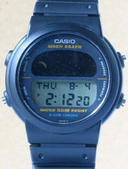 photo of vintage-casio-moon-graph-gmw-15 front view sm