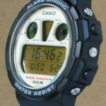 photo of vintage casio-digi-graph-DGW-30 side view 1