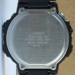 photo of vintage casio-digi-graph-DGW-30 back view
