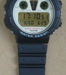 photo of vintage casio-digi-graph-DGW-30 band view