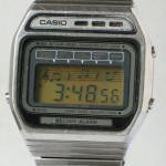 photo of vintage-casio-melody-H105 front view