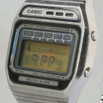 photo of vintage-casio-melody-H105 side view 2