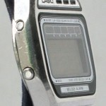 photo of vintage-casio-melody-H105 side view 1
