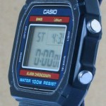 photo of vintage casio-Lithium-W-700 side view 1