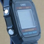 photo of vintage casio-Lithium-W-700 side view 2