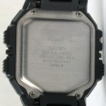 photo of vintage casio-bm-100wj back view