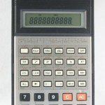 photo of vintage-casio-scientific-calculator-fx-100c front view