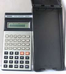 photo of vintage-casio-scientific-calculator-fx-100c both view sm