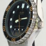 photo of Nos vintage ladies Alba dive digital/analog watch side view 1