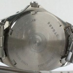 photo of Nos vintage ladies Alba dive digital/analog watch back view