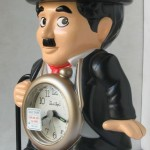 photo of Nos vintage rhythm-speak-up-alarm-clock-charlie-chaplin side view 1