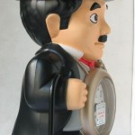 photo of Nos vintage rhythm-speak-up-alarm-clock-charlie-chaplin side view 2