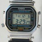 photo of vintage casio-DW-5800 front view