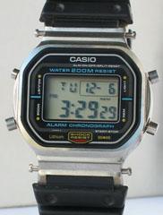 photo of vintage casio-DW-5800 front view sm
