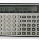 Photo of vintage casio-FX-702P-calculator front view 1