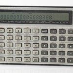 Photo of vintage casio-FX-702P-calculator front view 2