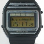 photo of vintage casio-melody-alarm-82M22 front view 1