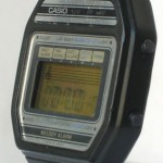 photo of vintage casio-melody-alarm-82M22 side view 1