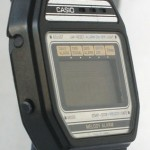 photo of vintage casio-melody-alarm-82M22 side view 2