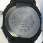 photo of vintage casio-melody-alarm-82M22 back view