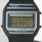 photo of vintage casio-melody-alarm-82M22 front view 2 sm