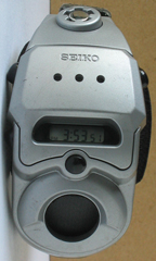 photo of vintage seiko-air-pro-A861-4000 part front view sm