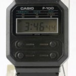 photo of vintage-casio-f-100 front view 1sm