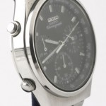photo of seiko-quartz-chronograph-7A38-7270 side view 1