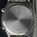 photo of seiko-quartz-chronograph-7A38-7270 back view
