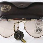 photo of NOS Ray-Ban Tortuga-Outdoorsman-sunglasses-58 mm-L1704. case view 1