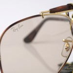 photo of NOS Ray-Ban Tortuga-Outdoorsman-sunglasses-58 mm-L1704. front view 3