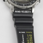 photo of vintage citizen windsurfing d060 band view