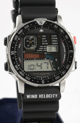 photo of vintage citizen windsurfing d060 front view sm
